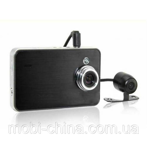 Видеорегистратор X60 Double Camera HD DVR (Globex GU-DUH010)