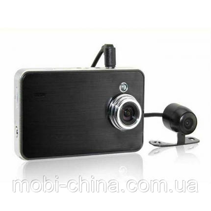Видеорегистратор X60 Double Camera HD DVR (Globex GU-DUH010), фото 2