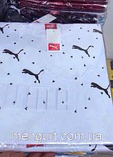 Футболка мужская молодежная puma пума  3d Турция, фото 3