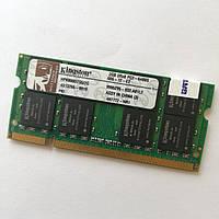 Оперативна пам'ять для ноутбука Kingston SODIMM DDR2 2Gb 800MHz 6400s CL6 Б/В MIX