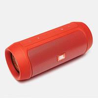 Портативная bluetooth колонка спикер JBL Charge 2 FM, MP3, радио Оранжевая