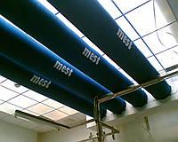 Воздуховод тканевый текстильный