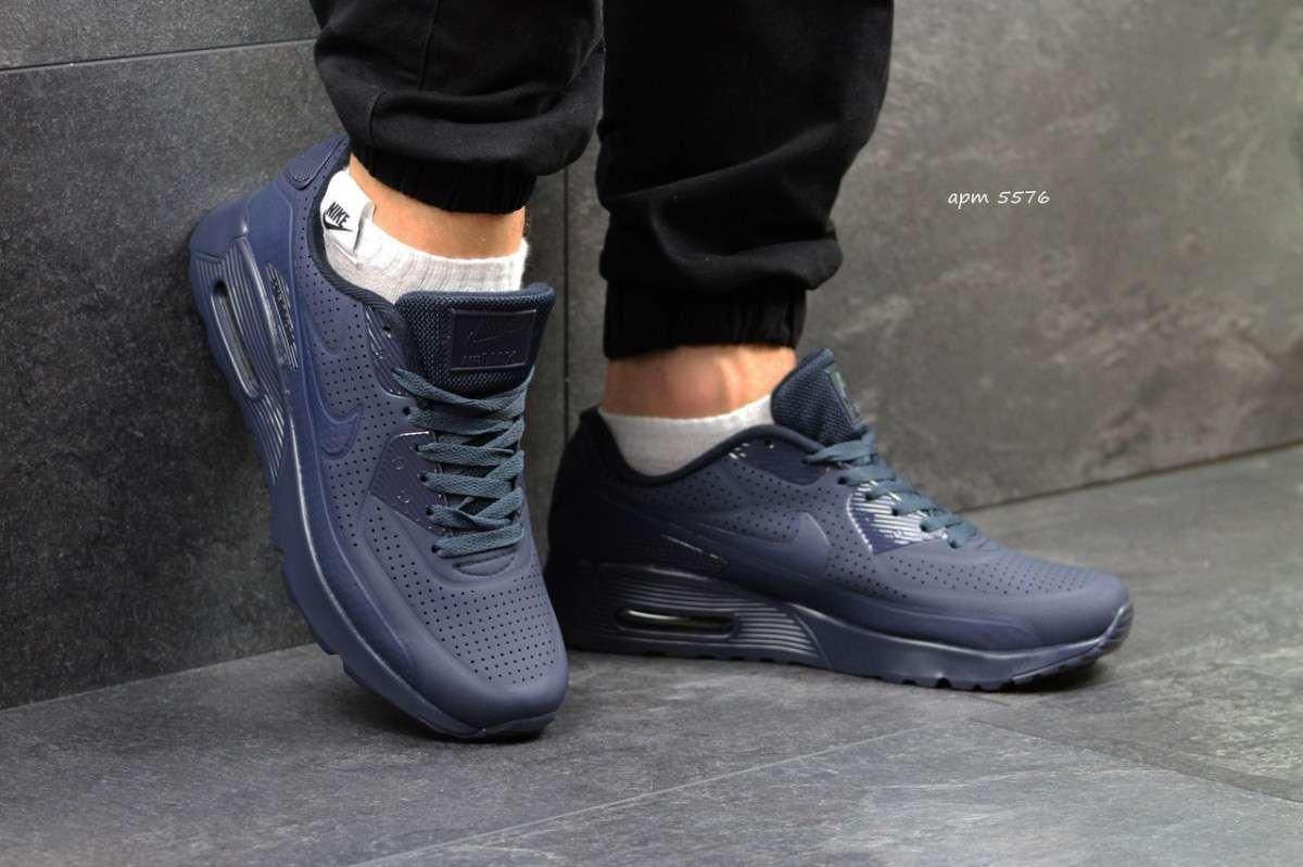 165a6731 Кроссовки Мужские Темно Синие Nike Air Max 1 Ultra Moire 5576 — в ...