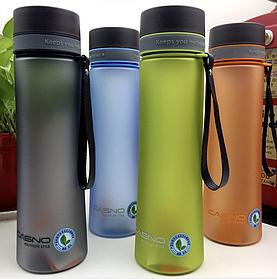 Бутылка спортивная фляга чашка для воды питья эко пластик с фильтром Casno 1 литр