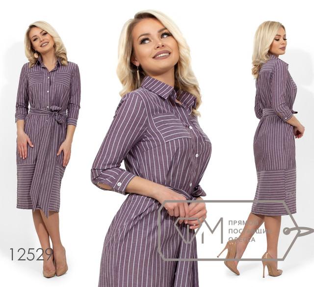 92ff312009c0d7b Купить Коттоновое платье-рубашку, лиловый оптом и в розницу в Одессе ...