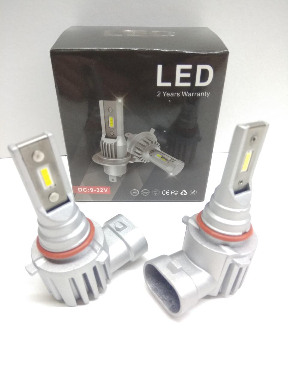 Автолампы LED S10P диод CSP Южная Корея, H10, 8000LM, 30W, 12-24V