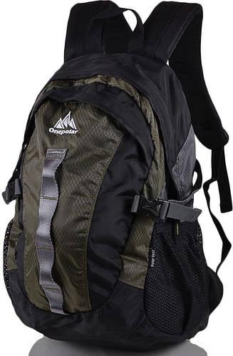 Стильный, молодежный, городской рюкзак 20 л. Onepolar W1278-green