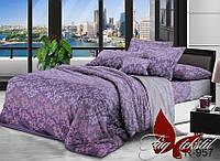 Комплект постельного белья семейный  ТМ TAG  R957 Ранфорс