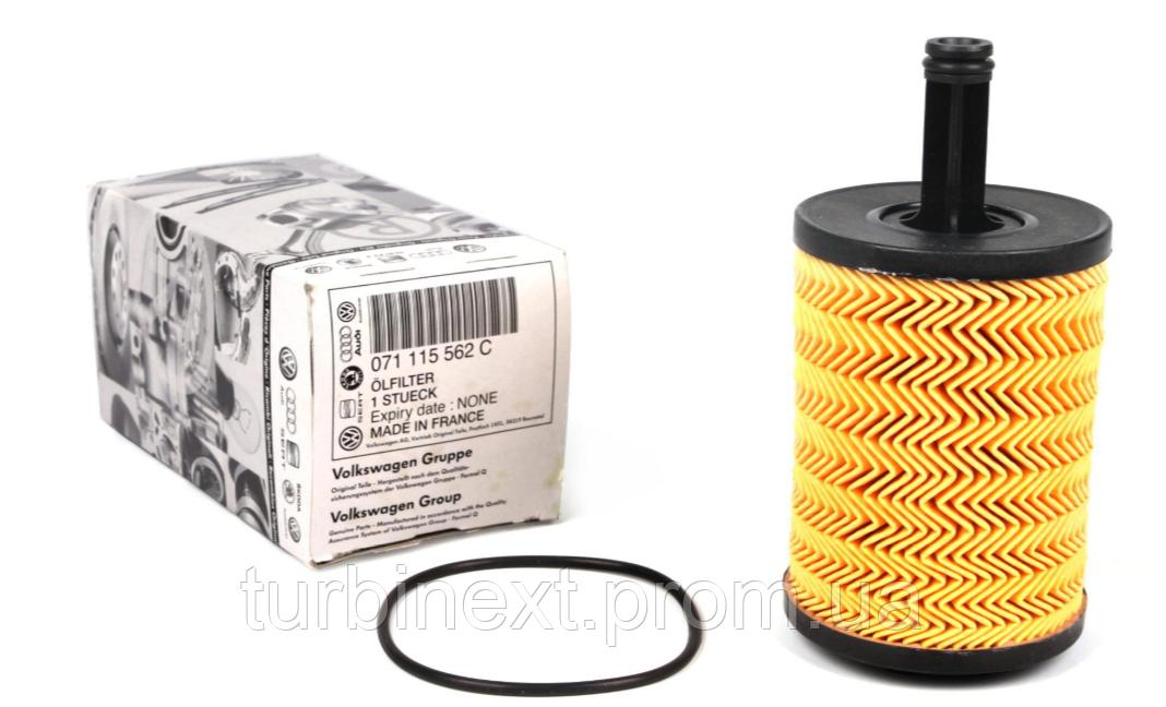 Фильтр масляный VW T5/Caddy III 03- VAG 071115562C