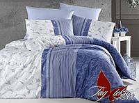 1,5-спальныйкомплект постельного белья ТМ TAG R4037 Ранфорс
