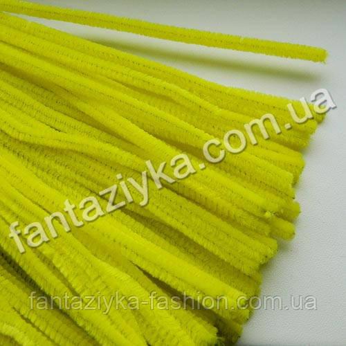 Синельная проволока 30см, желтая