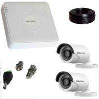 2 Мп Комплект видеонаблюдения Hikvision (2 внешн. камеры)