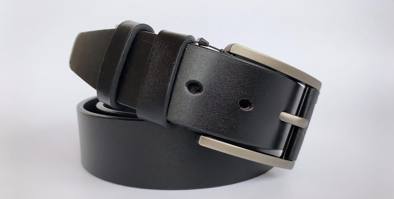 Мужской ремень КОЖА А-14 (черный)