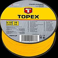 Шнур разметочный 100 м Topex 13A910