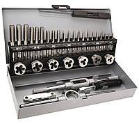 Плашки та метчики, M3 - M12, набор 32 шт. Topex 14A426