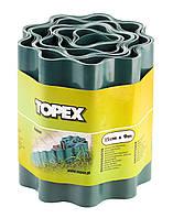 Лента бордюрная 15 см x 9 м Topex 15A501