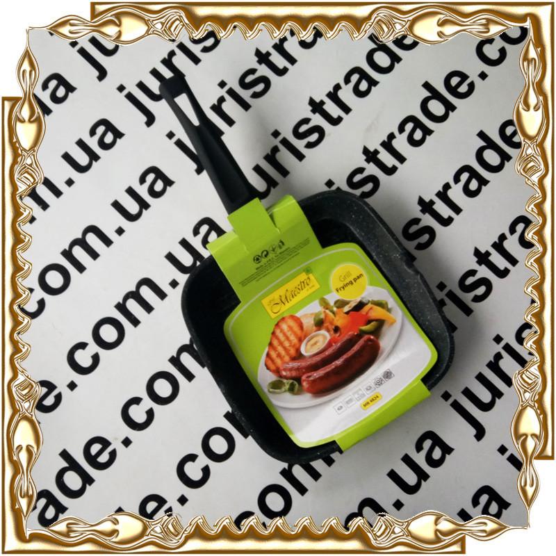 Сковорода гриль Maestro Grill Frying Pan MR 4824