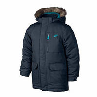 Куртки детские Пуховик NIKE FLD 550 HOODD 546191-467 JR(02-06-03-01) S