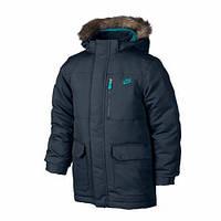 Куртки та жилетки Пуховик NIKE FLD 550 HOODD 546191-467 JR(02-06-03-01) S