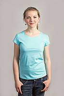 Женская футболка лето х/б