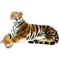 Тигр  мягкая игрушка , 140 см