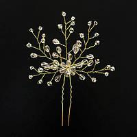 Свадебная шпилька - Cолнечный хрусталь