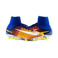 Бутсы пластик Копы Nike Mercurial Superfly V FG 831940-408(01-07-06) 45