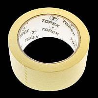 Лента малярная, 30 мм x 40 ярдов, желтая Topex 23B203