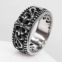 Байкерское кольцо из медицинской стали 9 мм 103288