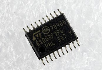 Микросхема  8S003F3P6 STM8S003F3P6 TSSOP-20 в ленте