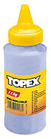 Меловой порошок для шнуров разметочных. 115 г, красный Topex 30C617