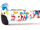 Гироскутер Smart Balance 6.5 дюймов ГРАФФИТИ БЕЛЫЙ (GRAFFITI)Максимальная Комплектация, фото 4