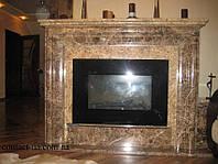 Камин из мрамора Имперадор Лайт