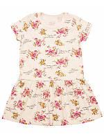 Летнее платье для девочки в цветочек