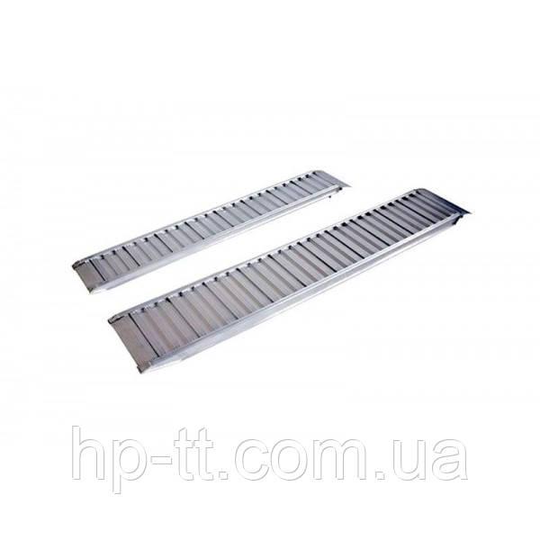 Трап заездной алюминиевый Profi 2370x300мм, 2710 кг