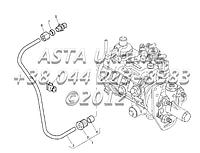 Контроль наддува трубы, двигатель 1104C-44Т, RG38101 Г1-3-5, фото 1