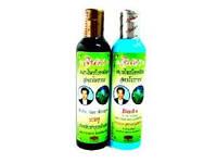 Шампунь от выпадения волос на травах с синим чаем Jinda Таиланд