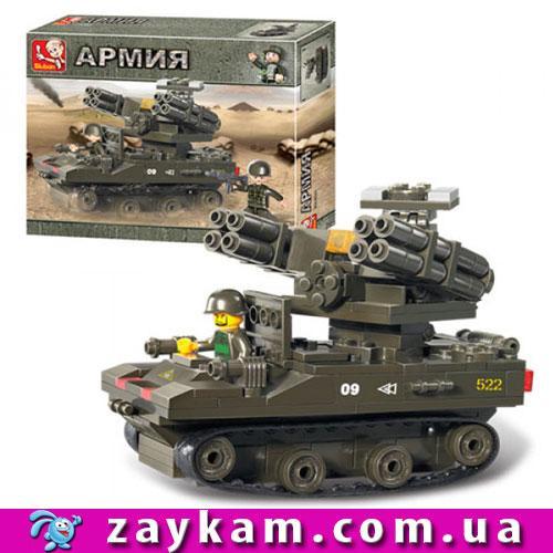 Конструктор SLUBAN M38-B0283 военная техника, фигурка, 207 деталей