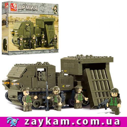 Конструктор SLUBAN M38-B0303 армия, военная машина, фигурки, 314 деталей