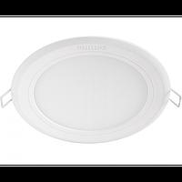 LED светильник встраиваемый Philips Slimlit 59511 12W 2700K круглый врезной White