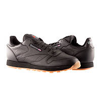 Кросівки Кроссовки REEBOK Classic Black Leather 49800 Оригинал(03-01-07) 46