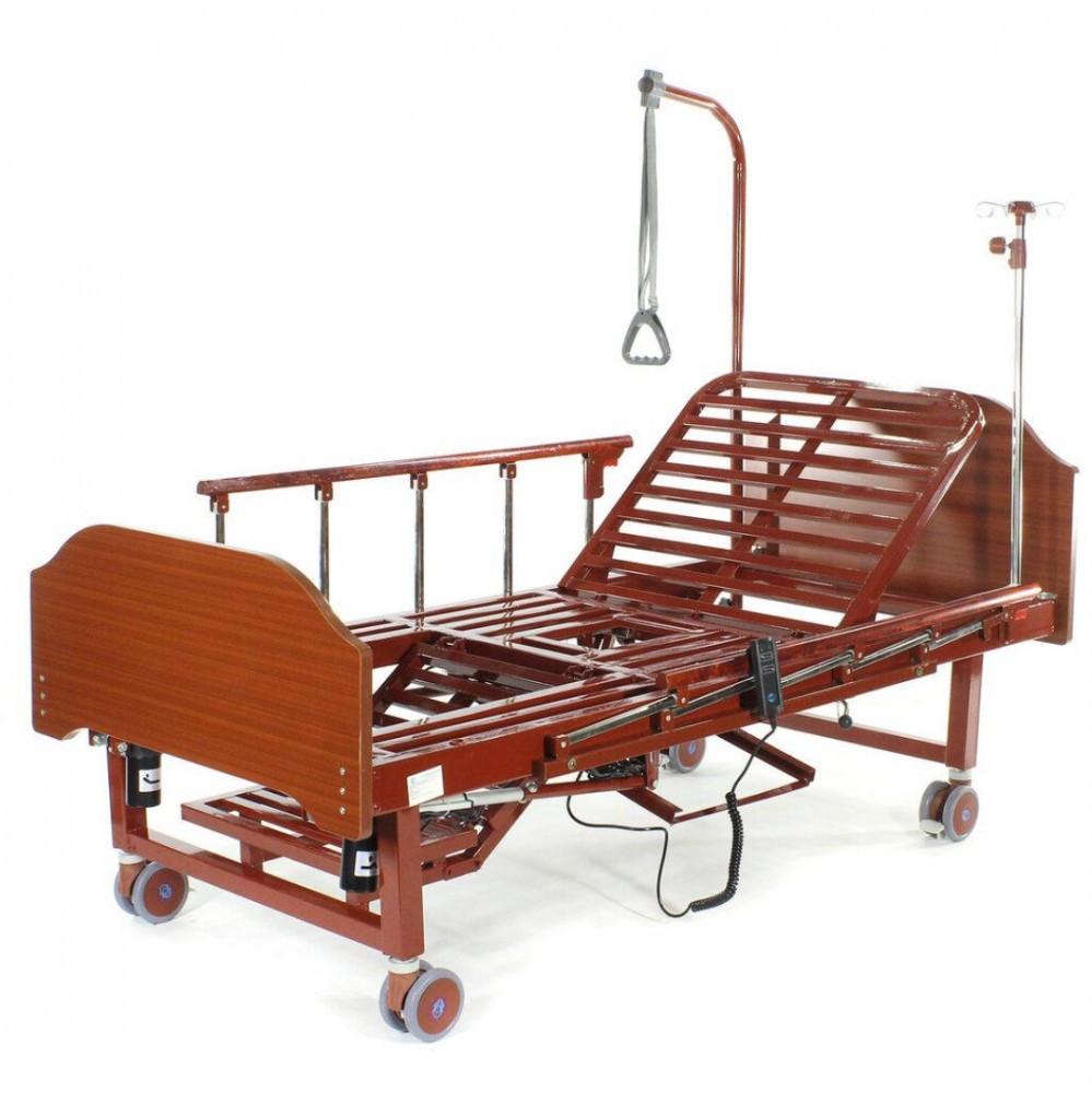 Кровать электрическая с туалетным устройством и функцией «кардиокресло» YG-2 (4 функции, 6 секций)