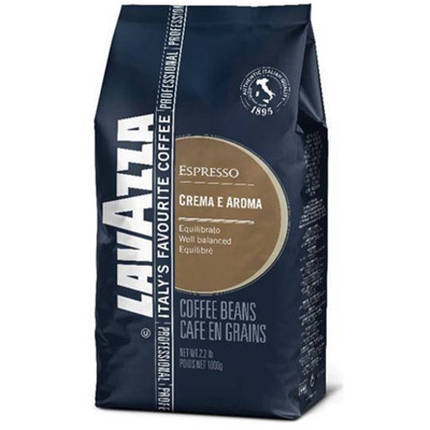 Кофе в зернах Lavazza Crema e Aroma Espresso 1кг Италия, фото 2