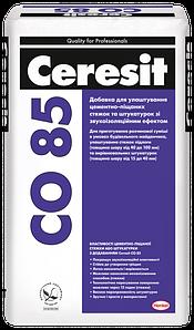 Добавка для приготовления цементно-песчаных стяжек со звукоизоляционным эффектом Ceresit 25 кг CO 85