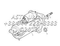Стартер, двигатель 1104C-44Т, RG38101 Г1-5-1
