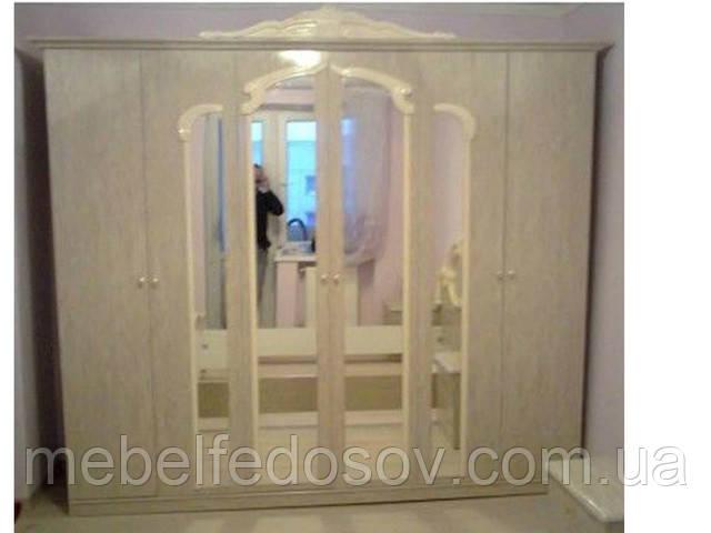 Шкаф 6Д спальня Империя Світ меблів