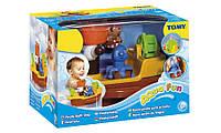 Игрушка для ванны Пиратский корабль TOMY T71602