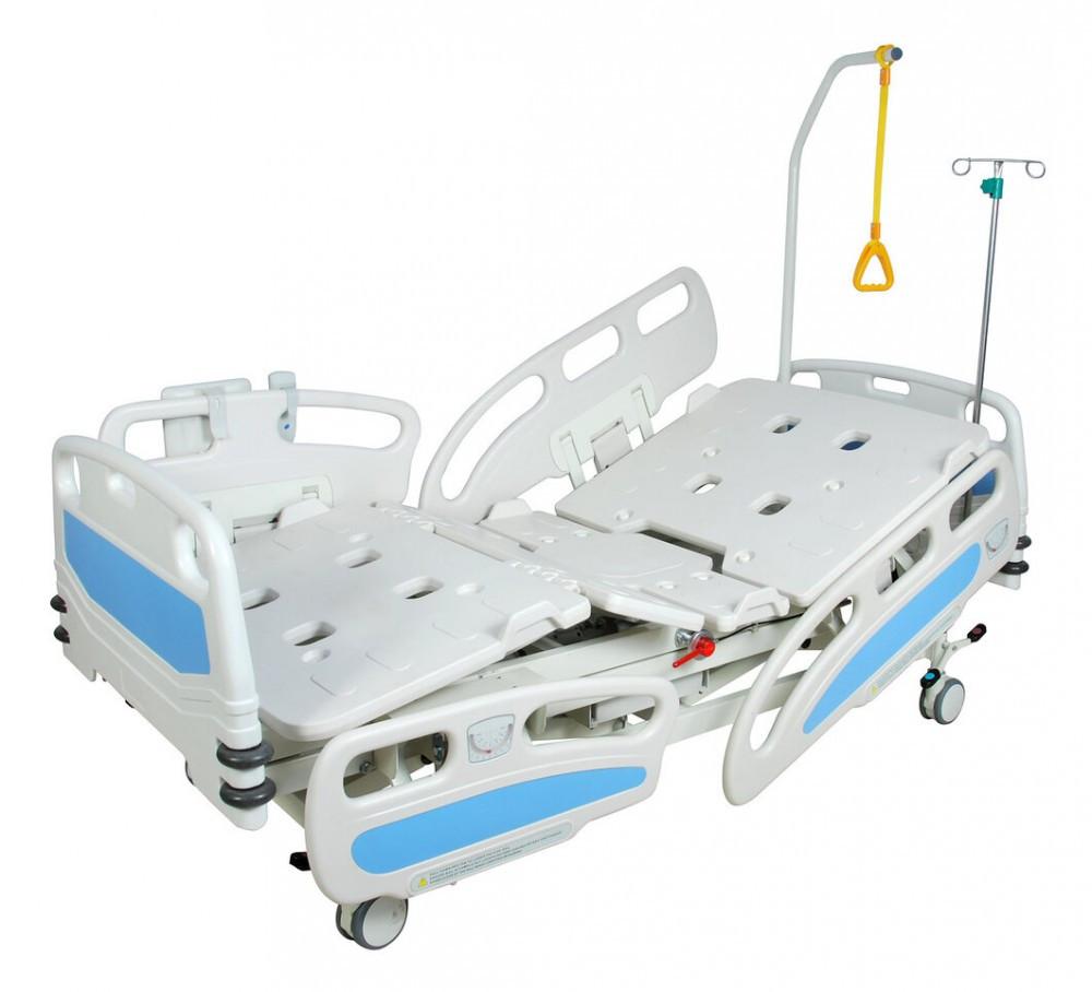 Медицинская кровать с электроприводом DB-2 (7 функций, 4 секции)