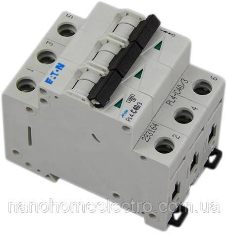 Автоматический выключатель Eaton-Moeller PL4-C 3P 50A