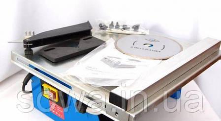 ✔️ Плиткорез ГОРИЗОНТ SM201  Мокрое сверления  1500 Вт 180 мм диск, фото 2